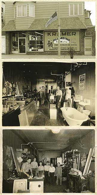Historical Photos of Kramer Plumbint and Heating of Medford, Wisconsin